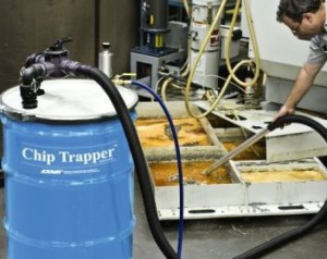 High Lift Chip Trapper