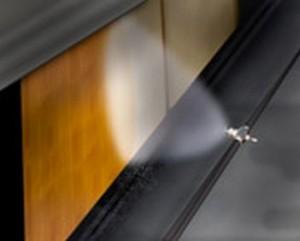 Internal Mix Flat Fan Pattern Atomizing Nozzles