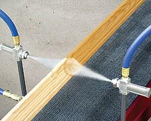 No Drip External Mix Round Pattern Atomizing Nozzles
